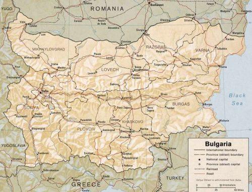 Map Bulgare