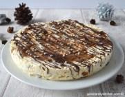 Chocolate and Caramel Meringue Dessert