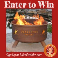 Win a Pendleton Whiskey Fire Pit