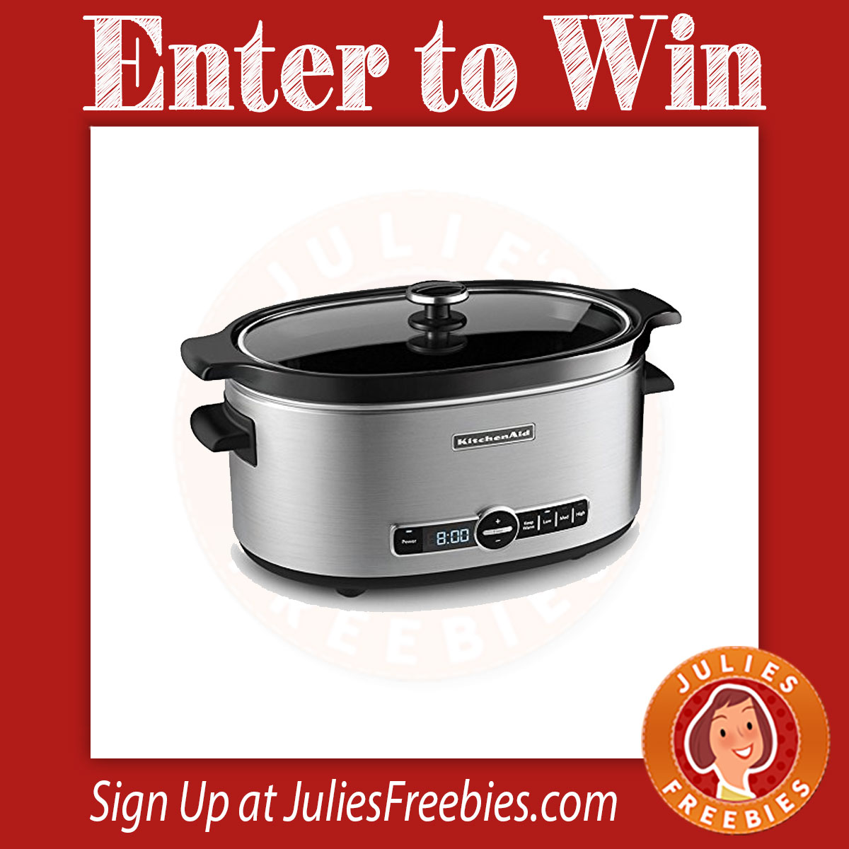 kitchen aid slow cooker what is the best faucet win a kitchenaid 6 quart julie 39s freebies