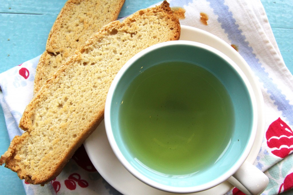 gluten-free vegan biscotti| Julie's Original White Cake Mix