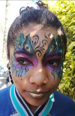 Children by Juliet Eve, Face Paintery Art