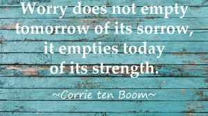 The Truth About Worry