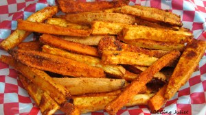 Sassy Sweet Potato Fries
