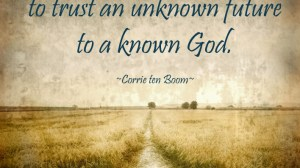 Trusting the Unknown to the Known