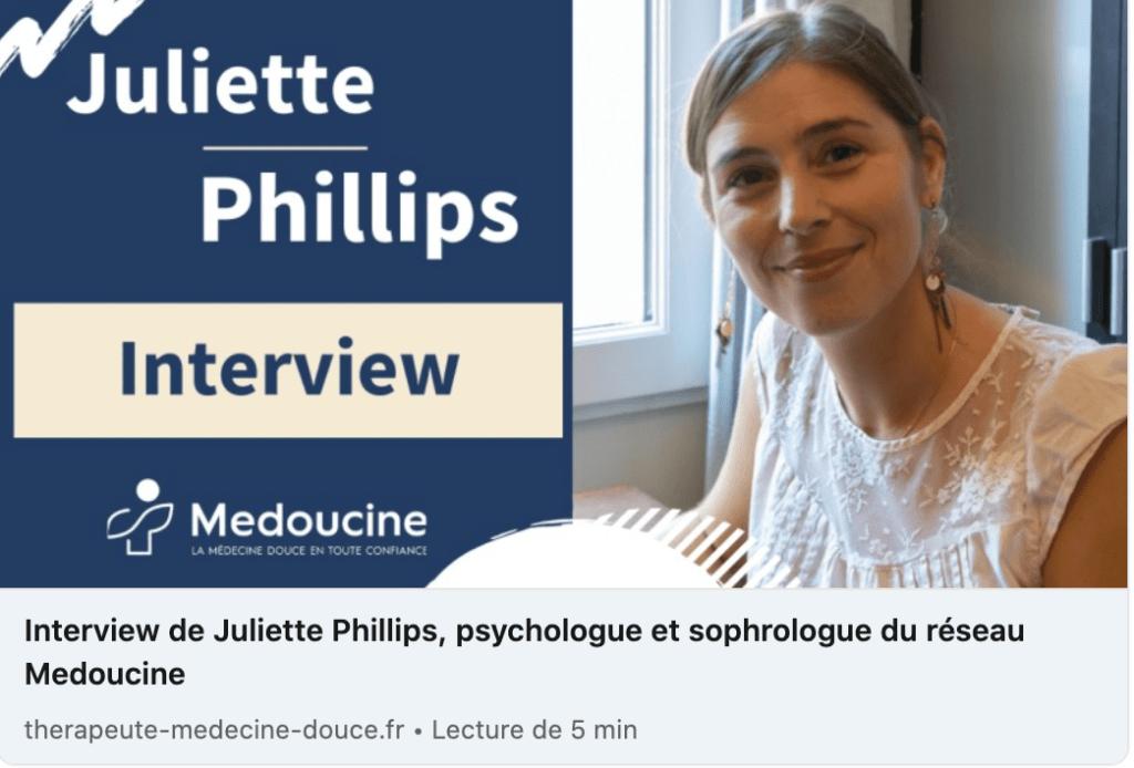 interview Juliette Phillips
