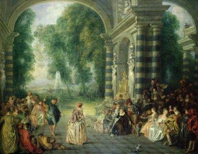 Les-plaisirs-du-Bal-1714-by-Jean-Antoine-Watteau