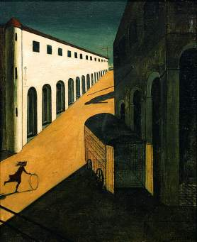 The-Mystery-and-Melancholy-of-a-Street-1914-Giorgio-de-Chirico