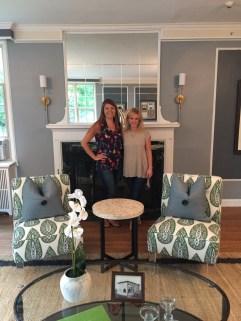 Dayme and me, WSU living room makeover, Summer 2016