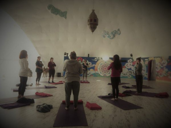 yoga therapy group lesson