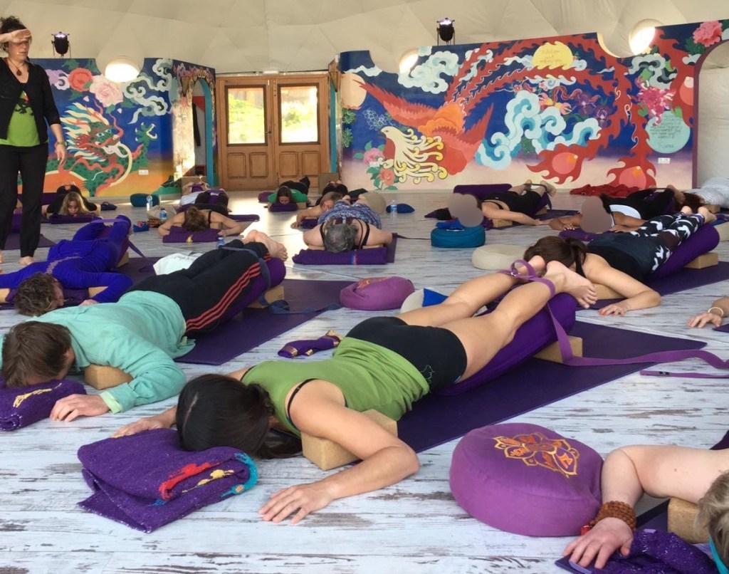 restorative yoga in cornwall
