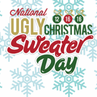 16 Décembre, le National Ugly Christmas Sweater Day
