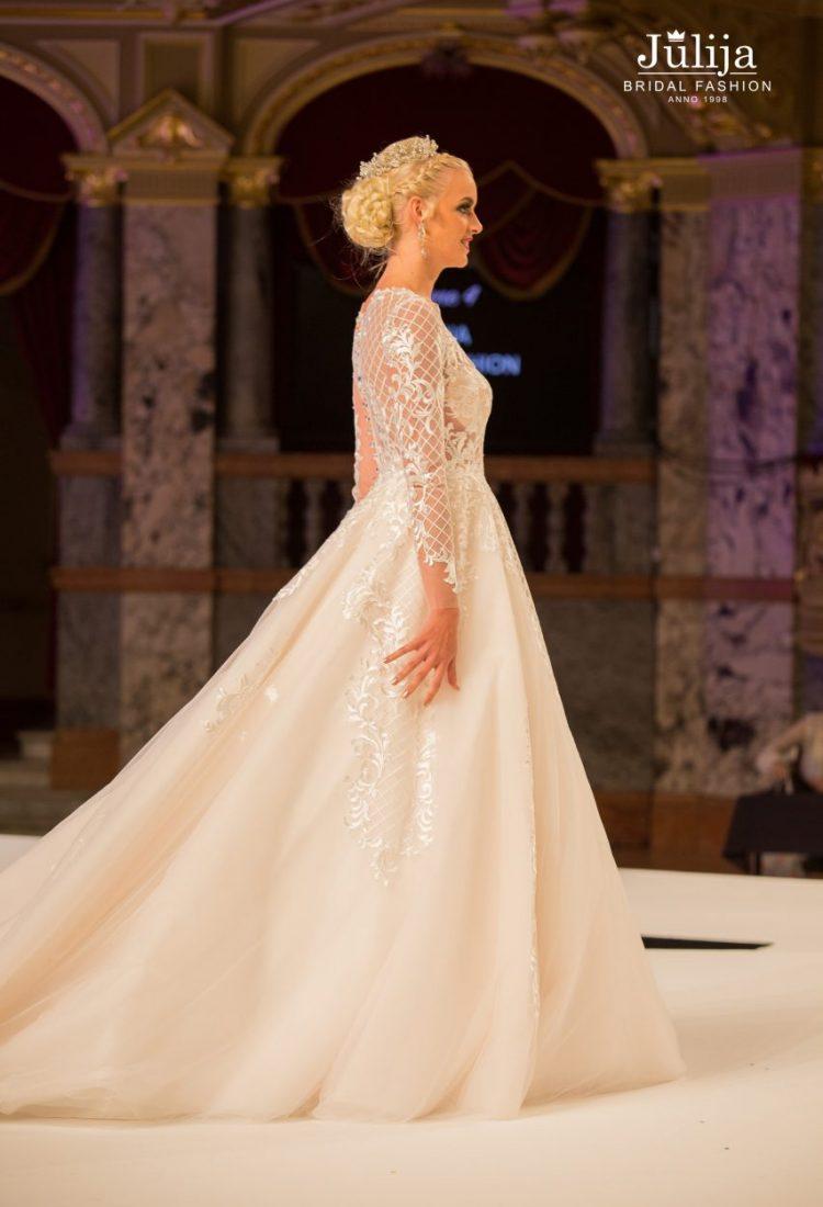 Jessika Catwalk  Bridal wedding dresses designer  Julija Bridal Fashion