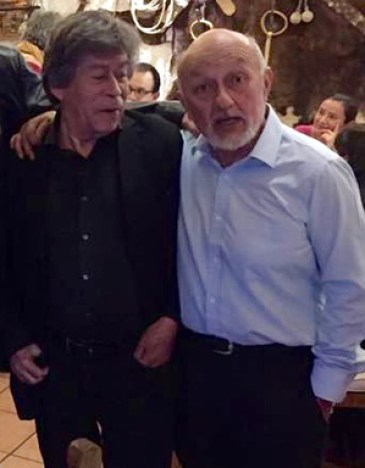 Fabián Soto y Enrique Condés