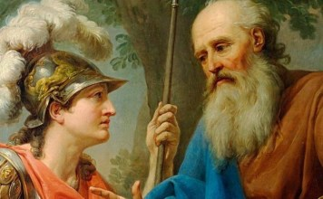 Sócrates y Alcibíades