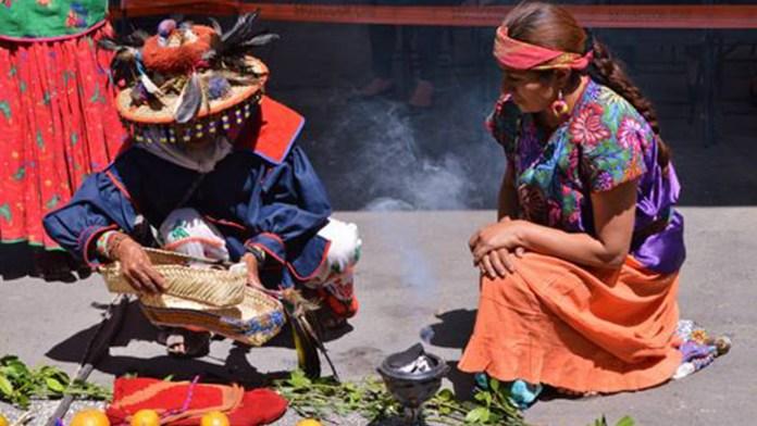 Ceremonia indígena
