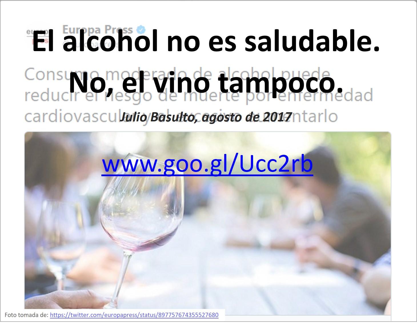 ¿El alcohol causa diabetes?