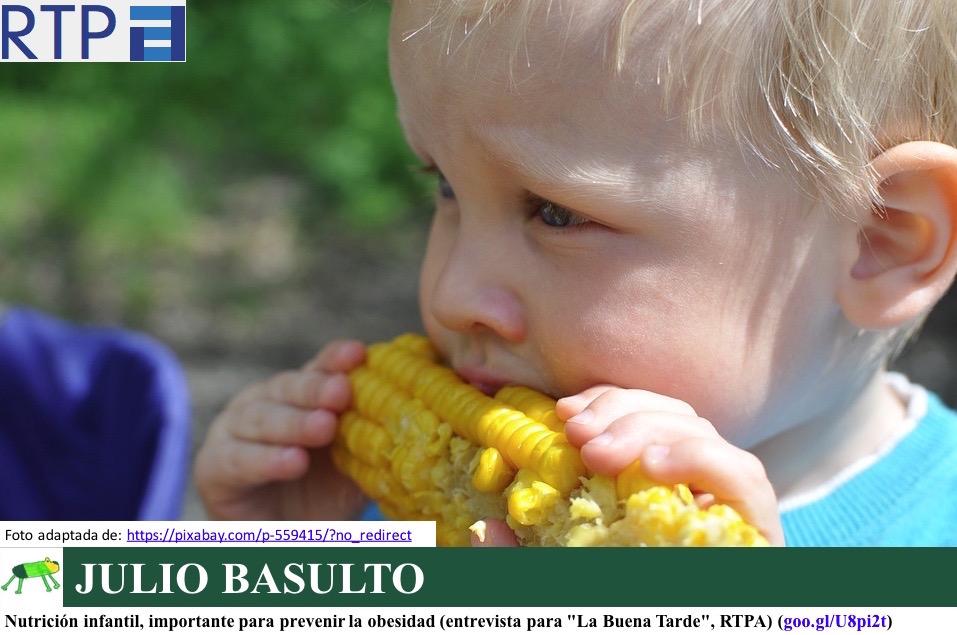 test de nutricion infantil