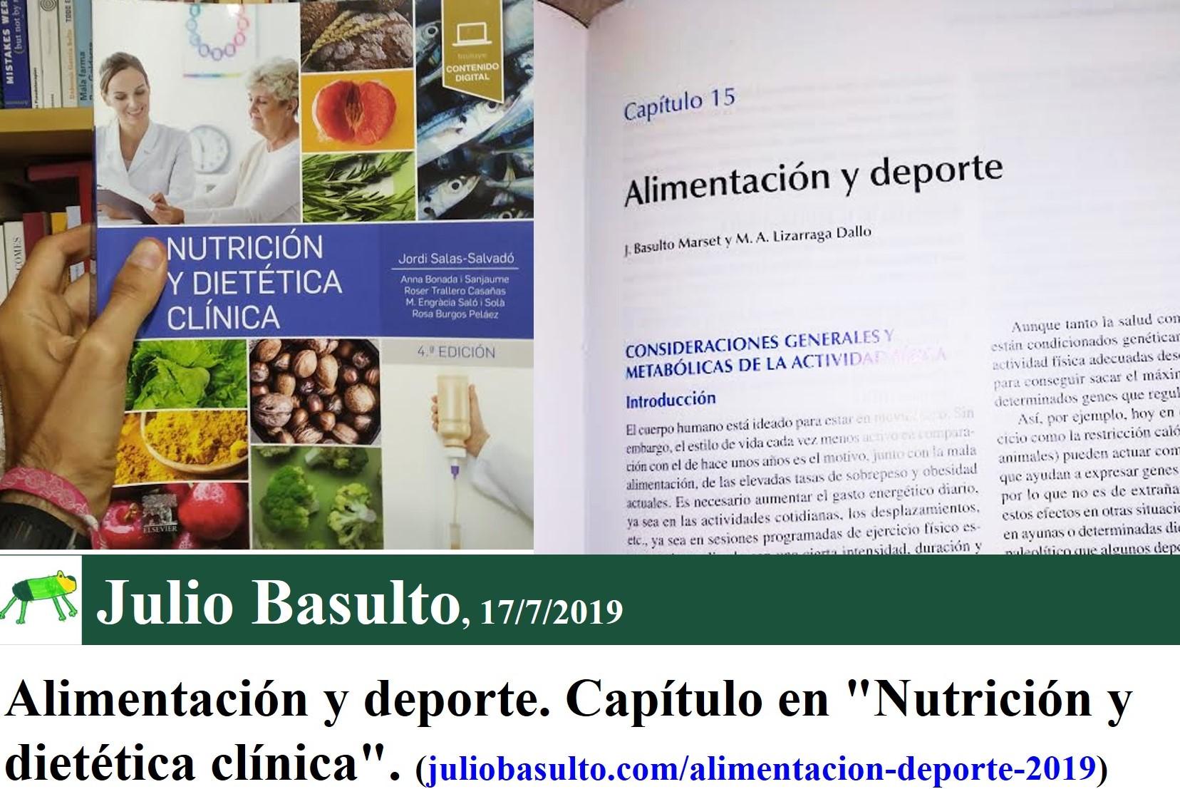 Libros nutricion deportiva 2020