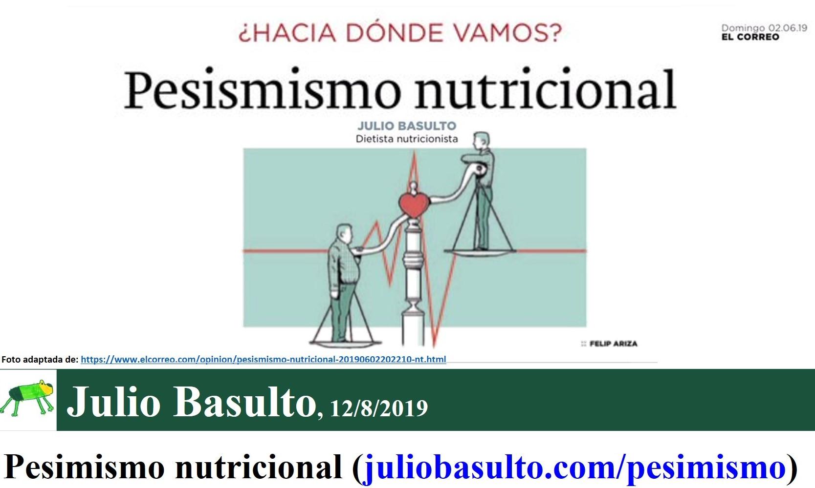 Julio Basulto - Dietista & Nutricionista