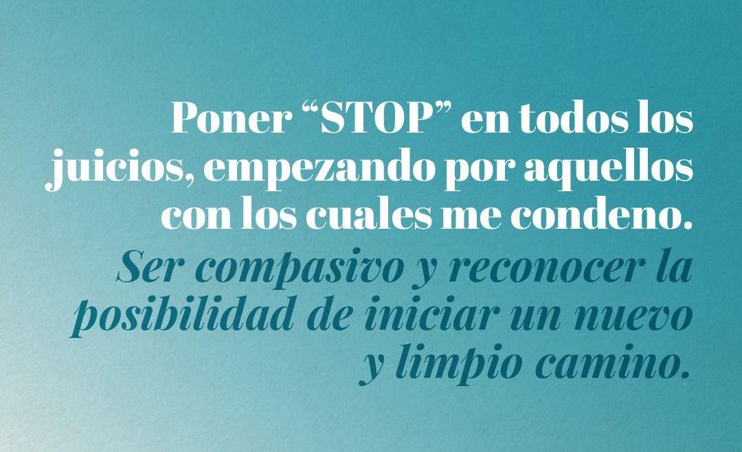 "Poner ""stop"""
