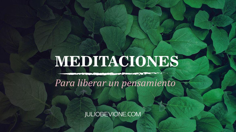 Meditación Para Liberar Un Pensamiento