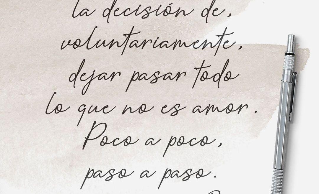 La decisión de amar
