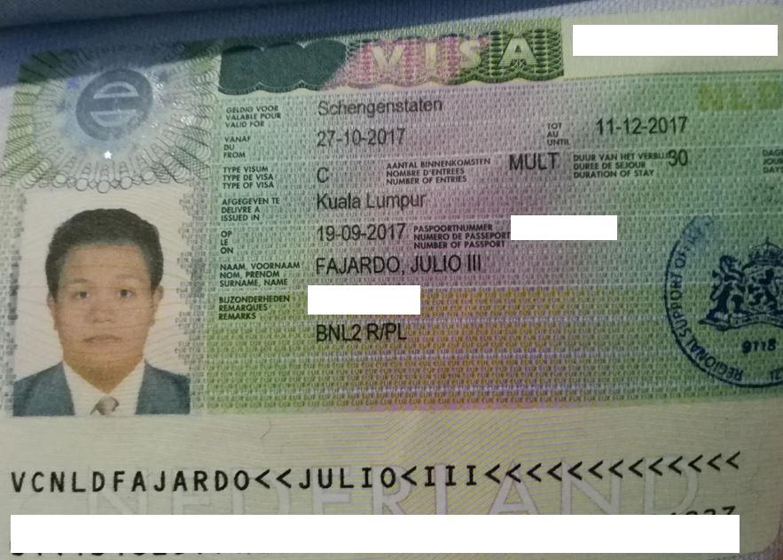 How To Get Schengen Visa For Filipinos In 2 Weeks Julio Goes Solo