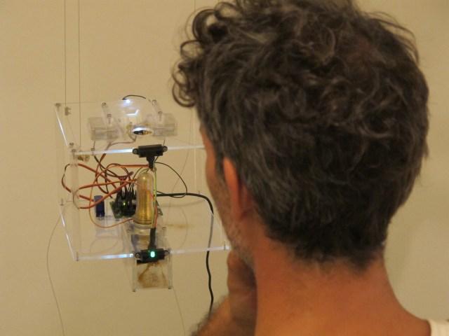 glitterBot installation