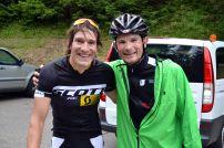 Ein Foto mit dem Gesamtvierten und Ironman-Europameister Sebastian Kienle.