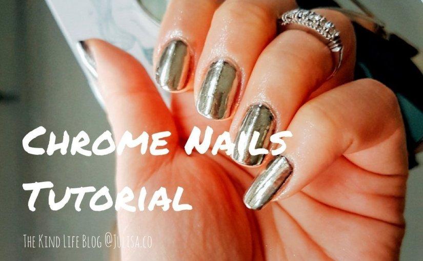 Chrome Nails Mirror Powder Tutorial (No UV Light) - Julisa