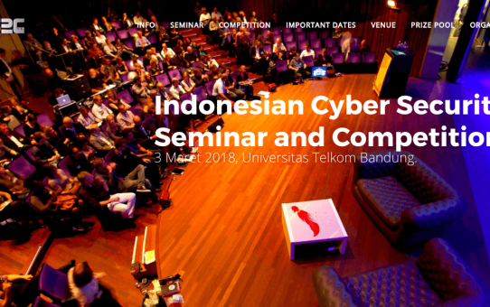 Indonesia Cyber Security Seminar and Competition
