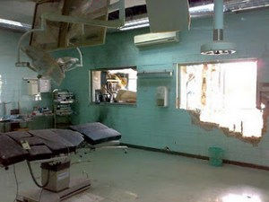 OP im IBN SINA HOSPITAL, SIRTE, NOVEMBER 2011