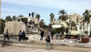 vandals in benghazi naser
