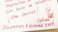 Chavez Unterschrift - Bild(er): Wikipedia