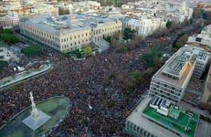 Dos nillones en Madrid