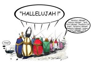 Bittprozession  Anrufung der Heiligen II
