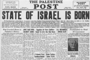 israel state born