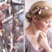 Haarschmuck zur Hochzeit  hochwertig  handgefertigt