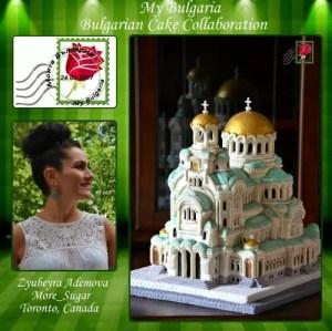 Зюбейра Адемова More_Sugar Торонто, Канада Тема: Храм-паметникът Свети Александар Невски