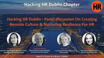 Юлика Новкова Hacking HR COnfrence Dublin 2020