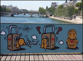 July In The Sky : blog beauté voyage paris métropole été pont des arts