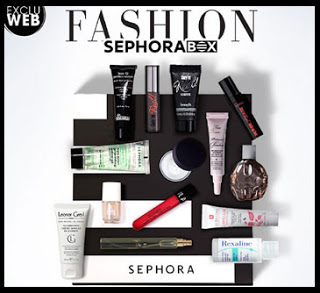 blog beauté fashion sephora box septembre 2015