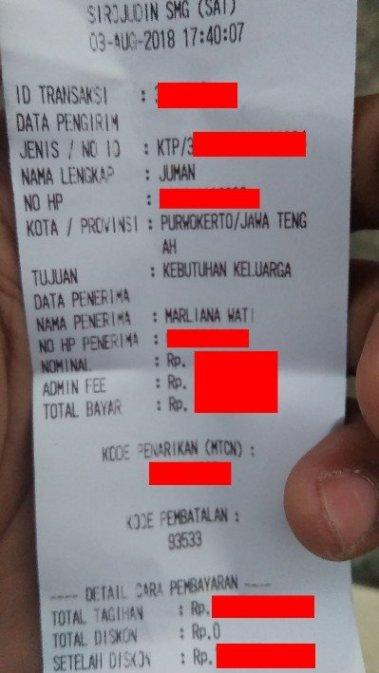 Transfer Uang Lewat Kantor Pos : transfer, lewat, kantor, Tranfer, Lewat, Juman, Wastono
