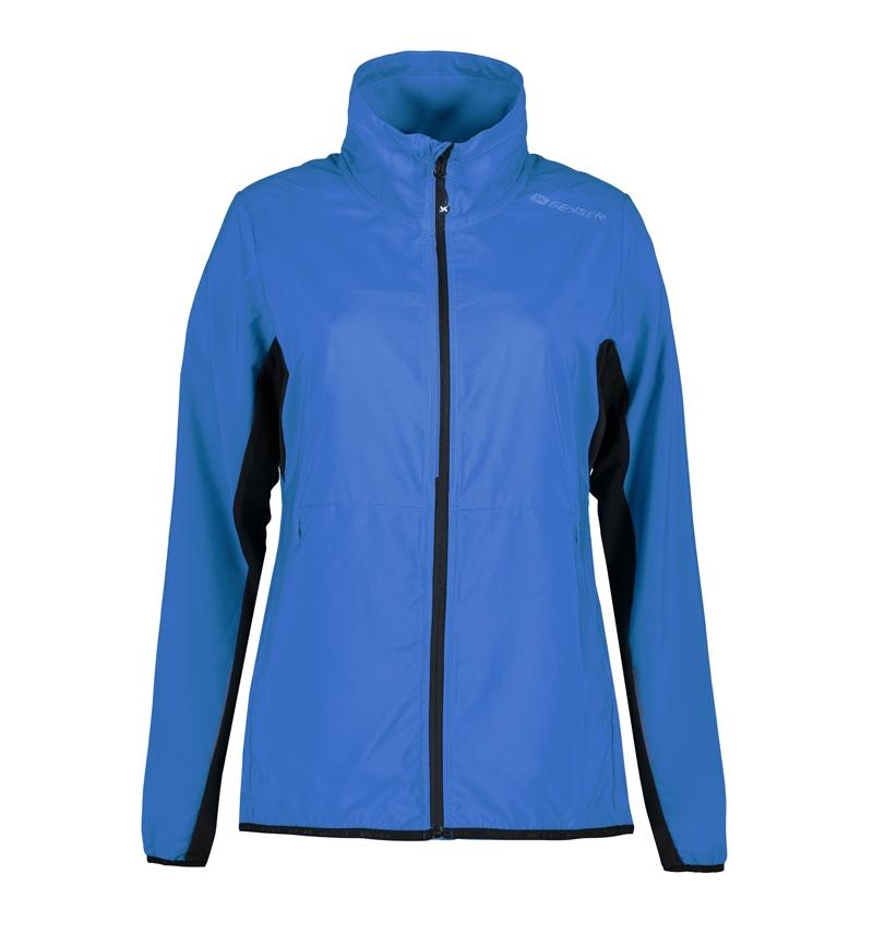 Foto-af-Woman-running-jacket-kongeblå-front2-G11012