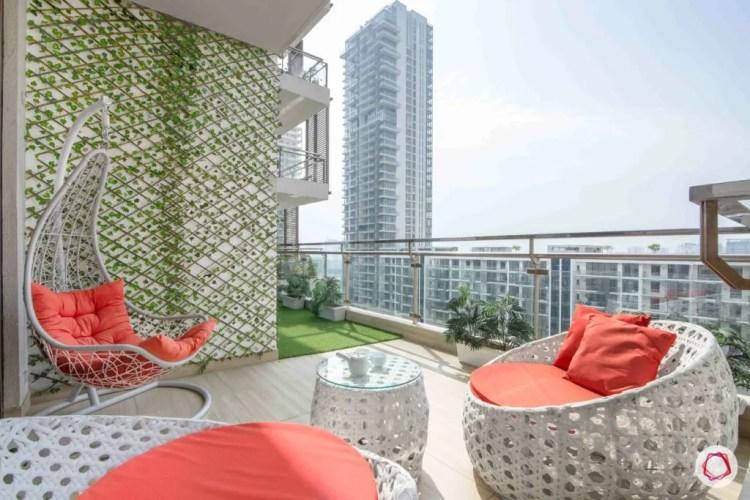 7 Useful Ways To Style A Big Balcony