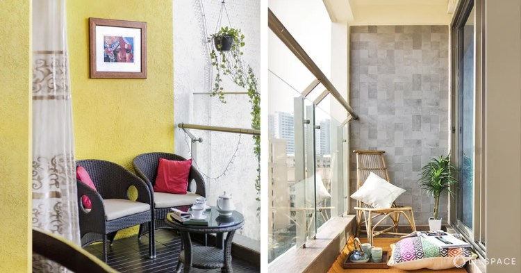 6 Stunning Ideas That Will Actually Uplift A Small Balcony