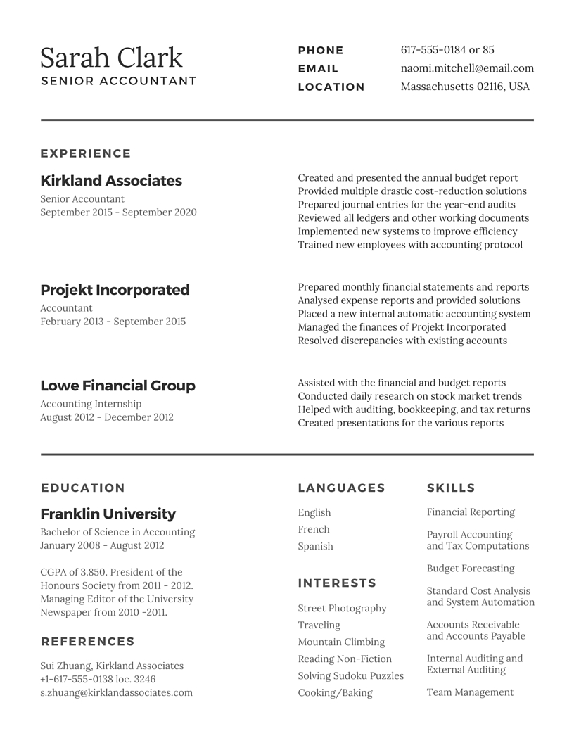 How To Write A Resumer How To Write Resume For Un Anjinho B