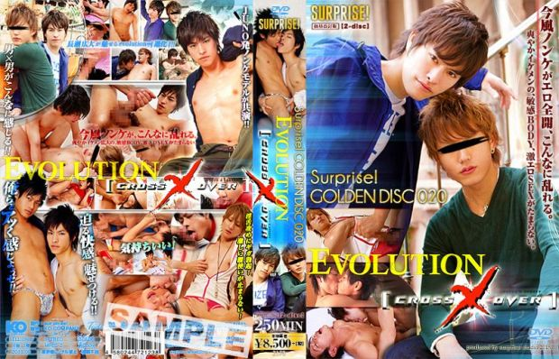 surprise! – surprise! GOLDEN DISC 020 -EVOLUTION&CROSS×OVER- (DVD2枚組)