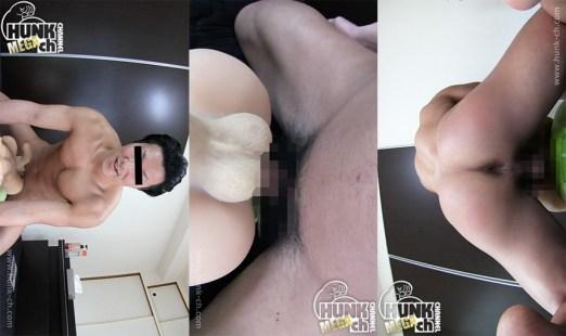 HUNK CHANNEL – OAV540 – 腰を振る度に浮かび上がるエロ過ぎる筋肉!!超人気モデル筋肉ボディの理一(りいち)君が男体型ラブドール相手に擬似SEXを披露!!